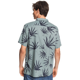 Quiksilver Deli Palm Chemise manches courtes Homme, chinois green deli palm